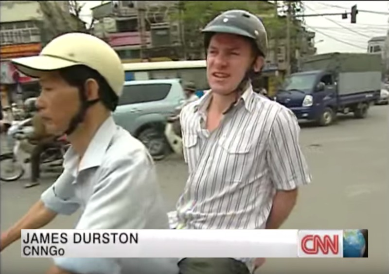 James Durston travel writer CNN Hanoi