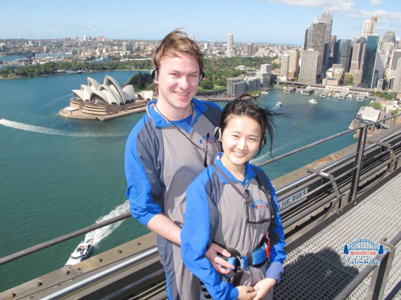 Sydney bridge climb travel writing job
