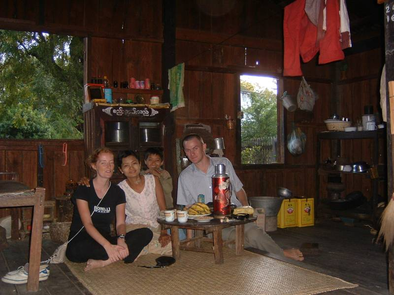 Burma house travel writing